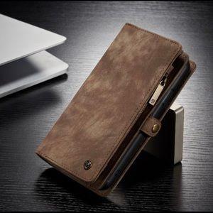 BOGO Free🌻IPhone XR wallet case genuine leather